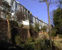 Houses in Richmond Rd affected by development