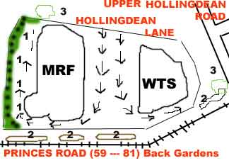 Landscaping plan for MRF and WTS