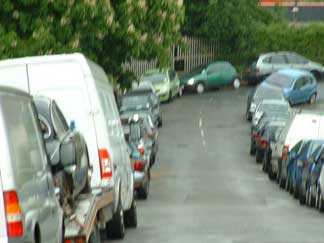 parking problems in Princes Road May 2009