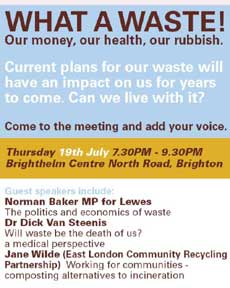 public meeting on waste