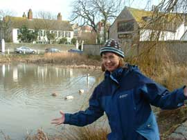 The Duck Pond at Rottingdean